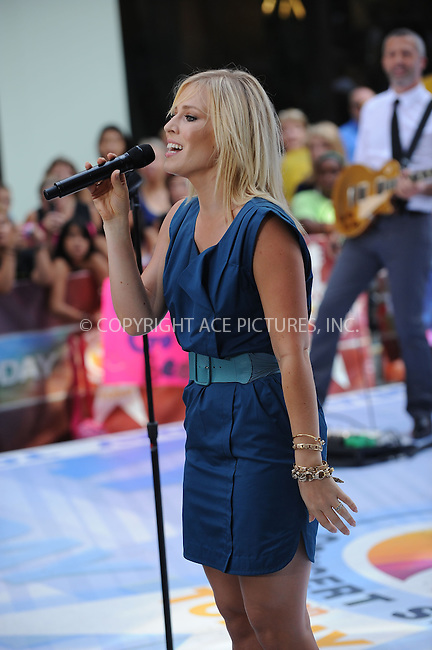 WWW.ACEPIXS.COM . . . . . ....August 21 2009, New York City....Singer Natasha Bedingfield performs on NBC's 'Today' show at the Rockefeller Center on August 21, 2009 in New York City.....Please byline: KRISTIN CALLAHAN - ACEPIXS.COM.. . . . . . ..Ace Pictures, Inc:  ..(212) 243-8787 or (646) 679 0430..e-mail: picturedesk@acepixs.com..web: http://www.acepixs.com