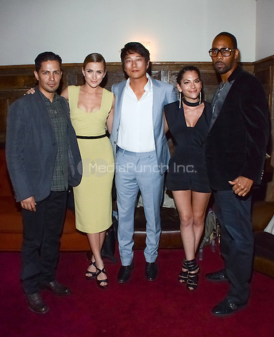 "BEVERLY HILLS, CA - APRIL 8:  Jay Hernandez, Shantel VanSanten, Sung Kang, Inbar Lavi, and RZA attend the Screening of FOX's new show ""Gang Related"" on April 8, 2014 in Beverly Hills, California.PGWise/MediaPunch"