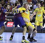 Velux EHF Champions League (day 3),Spain, Barcelona FC Barcelona Intersport beat 36-24 IK Savehof at Palau Blaugrana. Picture show Jesper Nielsen