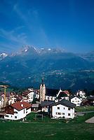 Obersaxen-Meierhof, Vorderrhein, Graubünden, Schweiz