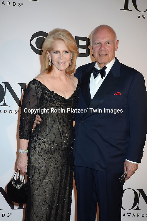 Daryl Roth and Steve Roth attend the 67th Annual Tony Awards on Sunday, June 9th at Radio City Music Hall in New York City.