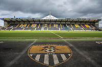 General view of the Stadium during the Sky Bet League 2 match between Notts County and Wycombe Wanderers at Meadow Lane, Nottingham, England on 28 March 2016. Photo by Andy Rowland.