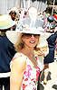 Margot Takain attends the Central Park Conservancy Hat Luncheon on May 2, 2018 in the Conservatory Garden in New York, New York, USA.<br /> <br /> photo by Robin Platzer/Twin Images<br />  <br /> phone number 212-935-0770
