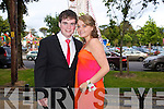 Having fun at the Causeway Comprehensive Debs on Thursday at The Brandon Hotel were Cian Dowling and Georgia Sheridan