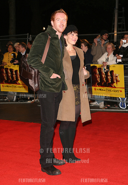 Damian Lewis and Helen McCrory attending the 'The Men Who Stare At Goats' film premiere, at Odeon Leicester Square, London. 15/10/2009   Picture By: Alexandra Glen / Featureflash