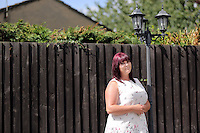 Natasha Waters at her home in Cwmbran, south Wales