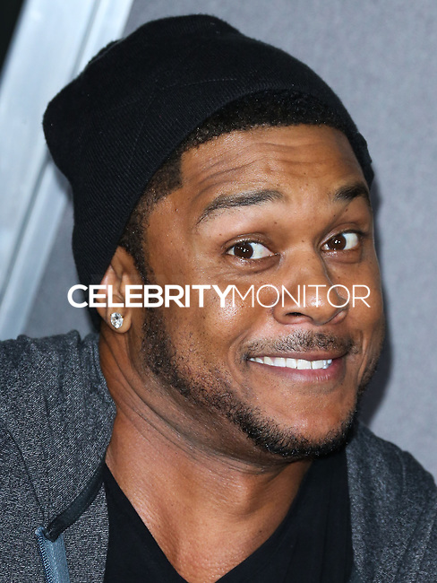 HOLLYWOOD, LOS ANGELES, CA, USA - SEPTEMBER 29: Pooch Hall arrives at the Los Angeles Premiere Of New Line Cinema's 'Annabelle' held at the TCL Chinese Theatre on September 29, 2014 in Hollywood, Los Angeles, California, United States. (Photo by Xavier Collin/Celebrity Monitor)