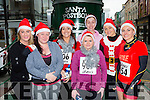 Sarah Walsh, Jessica Sugrue, Sarah Goff, Melissa O'Brien, Emma Griffin, Clodagh O'Connor, and gina Crowley Killarney at the Christmas in Killarney 5k on Sunday