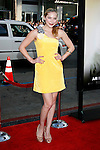 """HOLLYWOOD, CA. - June 02: Actress Shoshana Bush arrives at the Los Angeles premiere of """"The Hangover"""" at Grauman's Chinese Theatre on June 2, 2009 in Hollywood, California."""