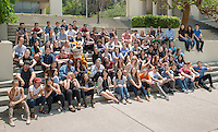 Summer Research Program (SRP) group photo, June 1, 2016. Taken for the Undergraduate Research Center (URC) annual program.<br />