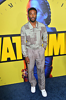 "LOS ANGELES, USA. October 15, 2019: Yahya Adbul-Meteen II at the premiere of HBO's ""Watchmen"" at the Cinerama Dome, Hollywood.<br /> Picture: Paul Smith/Featureflash"