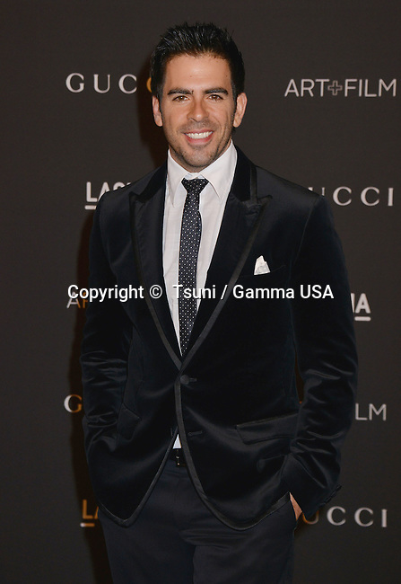 Eli Roth at the 2014 LACMA  Art+Film Gala at the LACMA Museum in Los Angeles.