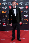 Javier Gutierrez attends red carpet of Goya Cinema Awards 2018 at Madrid Marriott Auditorium in Madrid , Spain. February 03, 2018. (ALTERPHOTOS/Borja B.Hojas)