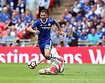 Mesut Ozil of Arsenal tackles Eden Hazard of Chelsea during the Emirates FA Cup Final match at Wembley Stadium, London. Picture date: May 27th, 2017.Picture credit should read: David Klein/Sportimage