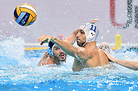 11 AICARDI Matteo Italy  <br /> Budapest 26/01/2020 Duna Arena <br /> ITALY (white caps) Vs. SERBIA (blue caps) Men <br /> Final 5th - 6th place <br /> XXXIV LEN European Water Polo Championships 2020<br /> Photo  © Andrea Staccioli / Deepbluemedia / Insidefoto