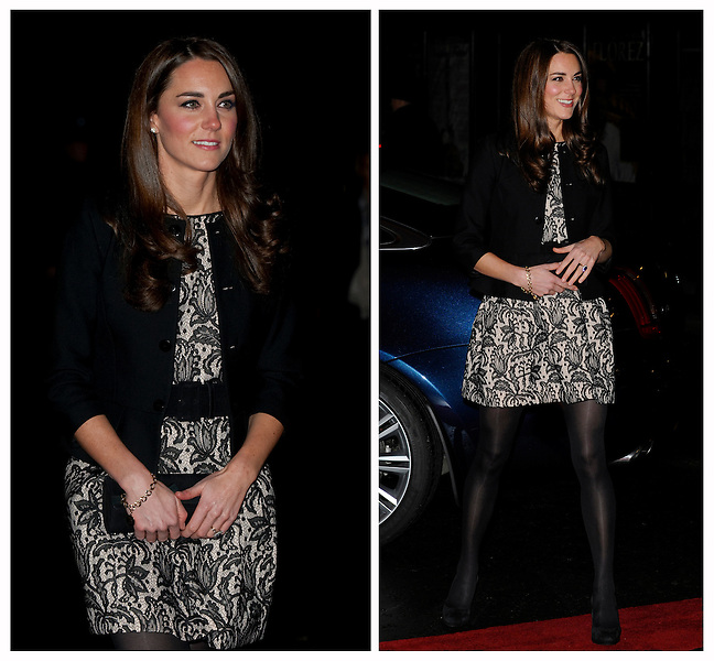 Catherine , Duchess Of Cambridge arrive at The Royal Albert Hall to attend Gary Barlows Show in aid of the Princes Trust City Riots Appeal and the Foundation Of Prince William and Prince Harry...Tel: 07515 876520.e mail: info@kisforkate.com