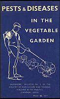 BNPS.co.uk (01202 558833)<br /> Pic: AmberlyPublishing/BNPS<br /> <br /> Attitudes to the use of pesticides and herbicides have changed considerably since this wartime pamphlet was issued.<br /> <br /> These fascinating old pictures show that allotments have been a passion of the British for centuries.<br /> <br /> Today, more than 90,000 people are on waiting lists to get their own little patch of land to grow vegetables, and the pastime was just as popular in the early years of the 20th century.<br /> <br /> Garden historian and lecturer Twigs Way has sourced dozens of images of green-fingered Brits tending to their allotments during the 'allotment craze' amongst the middle classes sparked by the Allotments Act of 1908 which required councils to supply them when demanded.<br /> <br /> Families would decamp to the allotment on a Sunday and picnic among the cabbages, dividing tasks with the husband digging, the wife collecting crops and the children weeding or caterpillar picking.<br /> <br /> They grew cabbage, carrots, leeks, parsnips, beet, marrow and spinach while also staying faithful to the Victorian favourites seakale, salsify, scorzonera and asparagus.<br /> <br /> The allotments helped keep the British fed during the two world wars but fell out of favour in the 1960s and 1970s with elderly plot holders cast as villains in the battle to free up land for the housing boom.<br /> <br /> But, prompted by a desire amongst Brits to reconnect with the land, they are now in the throes of a full-scale revival.