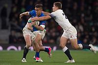 Twickenham, Surrey. UK.  Tim NANAI-Williams, during the England vs Samoa, Autumn International. Old Mutual Wealth Series. RFU Stadium, Twickenham. Surrey, England.<br /> <br /> Saturday  25.11.17  <br /> <br /> [Mandatory Credit Peter SPURRIER/Intersport Images]