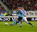 Nederland, Heerenveen, 11 april 2012.Seizoen 2011-2012.Eredivisie.SC Heerenveen-Ajax.Ismail Aissati van Ajax scoort de 0-2