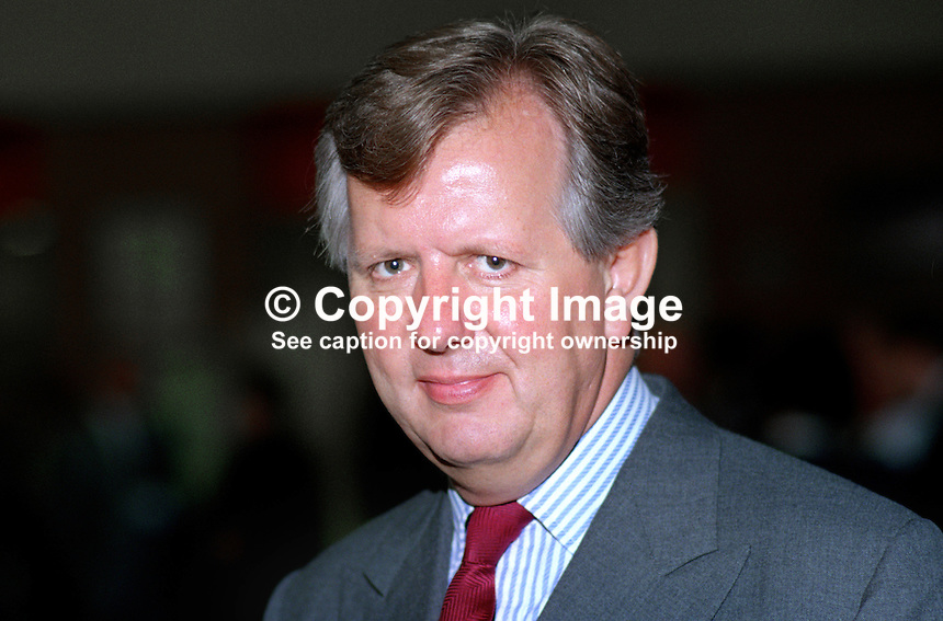 Steven Norris, MP, politician, Conservative Party, UK, 19901050SN1.<br />