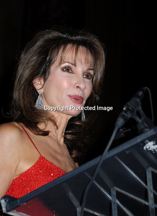 Susan Lucci in Donna Karan Dress..at The 32nd Annual  Freddie Awards Gala hosted by Susan Lucci, which honors the best in the year's health and medical production on November 3, 2006 at Cipriani 42nd ..Street in New York. ..Robin Platzer, Twin Images..