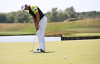 Robert Karlsson (SWE) putting on the 18th during the Pro-Am ahead of the 2015 Alstom Open de France, played at Le Golf National, Saint-Quentin-En-Yvelines, Paris, France. /01/07/2015/. Picture: Golffile | David Lloyd<br /> <br /> All photos usage must carry mandatory copyright credit (&copy; Golffile | David Lloyd)