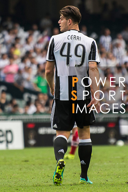 Juventus' player Alberto Cerri in action at the South China vs Juventus match during AET International Challenge Cup on 30 July 2016 at Hong Kong Stadium, in Hong Kong, China.  Photo by Marcio Machado / Power Sport Images