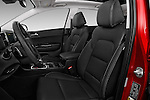 Front seat view of 2017 KIA Sportage SXAWD 5 Door SUV Front Seat  car photos