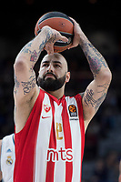 REAL MADRID v CRVENA ZVEZDA. Turkish Airlines Euroleague 2017-2018.