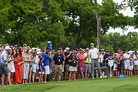 Jordan Spieth (USA) watches his tee shot on 3 during round 3 of the 2019 Charles Schwab Challenge, Colonial Country Club, Ft. Worth, Texas,  USA. 5/25/2019.<br /> Picture: Golffile | Ken Murray<br /> <br /> All photo usage must carry mandatory copyright credit (© Golffile | Ken Murray)