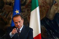 Roma, Maggio, 2005. Silvio Berlusconi