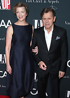 LOS ANGELES - OCTOBER 7:   Lisa Rinehart and Mikhail Baryshnikov at the 2017 Los Angeles Dance Project Gala on October 7, 2017 in Los Angeles, California. (Photo by Scott Kirkland/PictureGroup)