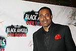 """As The World Turns' Lamman Rucker """"T. Marshall Travers"""" and All My Children's Garret Williams"""" is a founding member of Black Gents of Hollywood who presents Layon Gray's Black Angels Over Tuskegee on the Second Anniversary of the play on February 18, 2012 at The Actors' Temple, New York City, New York. (Photo by Sue Coflin/Max Photos)"""