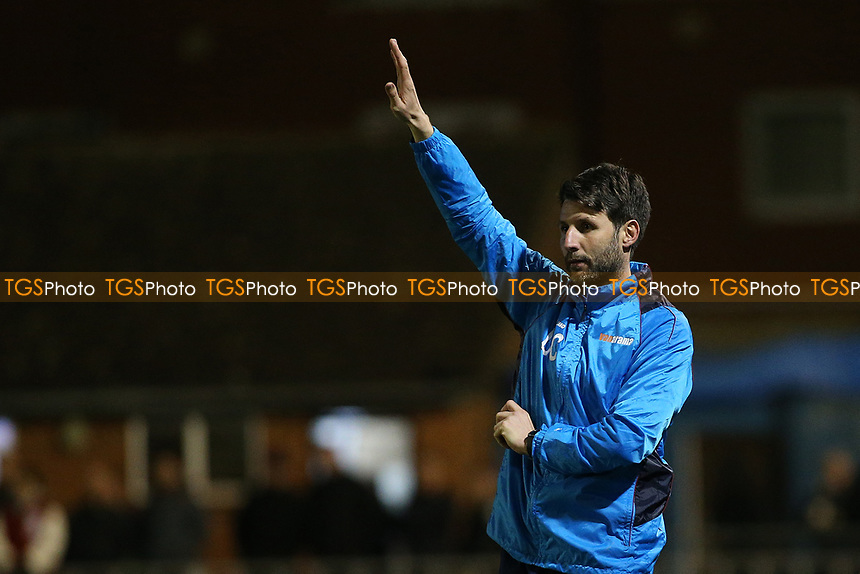 Lincoln City manager Danny Cowley during Braintree Town vs Lincoln City, Vanarama National League Football at the IronmongeryDirect Stadium on 7th March 2017
