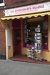 Belgian chocolate shop, Woodbridge, Suffolk, England