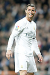 Real Madrid's Cristiano Ronaldo during La Liga match. March 20,2016. (ALTERPHOTOS/Acero)