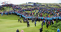 210719 | The 148th Open - Final Round<br /> <br /> Shane Lowry of Ireland on the 18th during the final round of the 148th Open Championship at Royal Portrush Golf Club, County Antrim, Northern Ireland. Photo by John Dickson - DICKSONDIGITAL