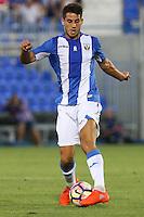 Leganes's Gabriel Pires during the XXXVII trophy of Legane's City between CD Leganes and Villarreal CF at Butarque Stadium. August 13, 2016. (ALTERPHOTOS/Rodrigo Jimenez) /NORTEPHOTO