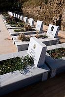 Nordzypern, Famagusta (Gazimagusa, Ammochostos), Märtyrer-Friedhof der 1974 getöteten türkischen Zivilisten