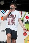 Alex James at the Big Feastival 2017, at  Alex James' farm Kingham Oxfordshire uk