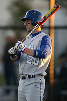 February 20, 2009:  Outfielder Chris Spagnuolo (20) of Seton Hall University during the Big East-Big Ten Challenge at Jack Russell Stadium in Clearwater, FL.  Photo by:  Mike Janes/Four Seam Images