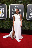 Janet Mock attends the 76th Annual Golden Globe Awards at the Beverly Hilton in Beverly Hills, CA on Sunday, January 6, 2019.<br /> *Editorial Use Only*<br /> CAP/PLF/HFPA<br /> Image supplied by Capital Pictures