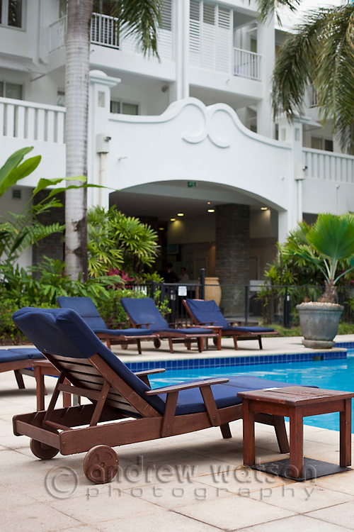 The Beach Club resort.   Palm Cove, Cairns, Queensland, Australia