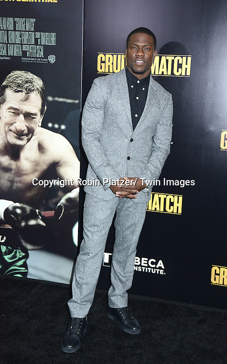 "Kevin Hart  attends the World Premiere of ""Grudge Match"" at the Ziegfeld Theatre in New Yok City on December 16, 2013."