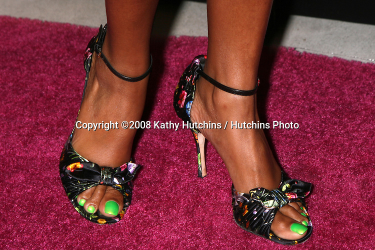 Taraji P. Henson  arriving at the Launch party for the Blackberry 8330 Pink Curve at Intermix in  Los Angeles, CA on.August 27, 2008.©2008 Kathy Hutchins / Hutchins Photo....