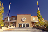 AJ3875, Sante Fe, State Capitol, State House, New Mexico, The State Capitol Building in the capital city of Sante Fe in the state of New Mexico.