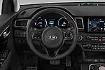 Car pictures of steering wheel view of a 2019 KIA e-Niro More 5 Door SUV Steering Wheel