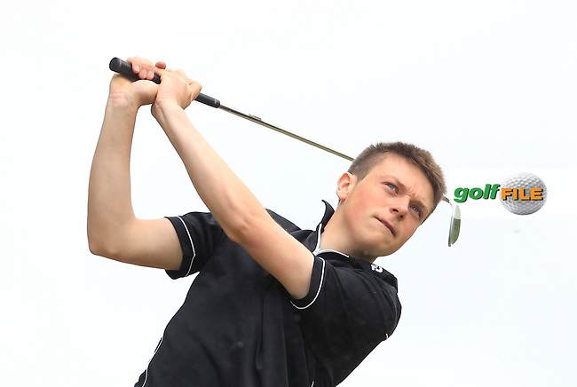 Eric Rumley (Kinsale) on the 7th tee during Round 2 of the Irish Boys Amateur Open Championship at Tuam Golf Club on Wednesday 24th June 2015.<br /> Picture:  Thos Caffrey / www.golffile.ie