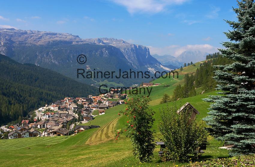 Italy, South Tyrol, Alto Adige, Dolomites, San Cassiano