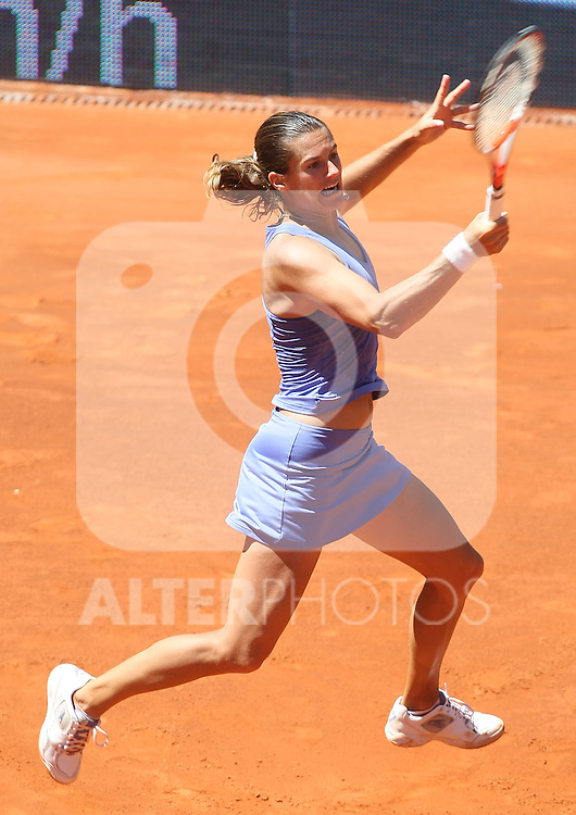 France's Amelie Mauresmo during his Madrid Open Semi final match.May 15 2009.(ALTERPHOTOS/Acero).